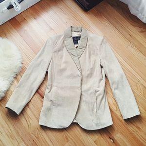 Vintage Terry Lewis Luxuries Genuine Leather coat!